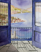 Symi Watercolours